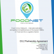 FOODNET Partnership Agreement available on our website !!!
